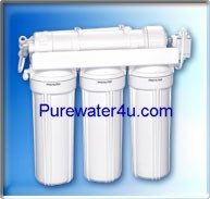 Goldline 50 GPD Reverse Osmosis System Retro Fit Kit.